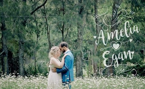 Amelia and Egan Wedding Video