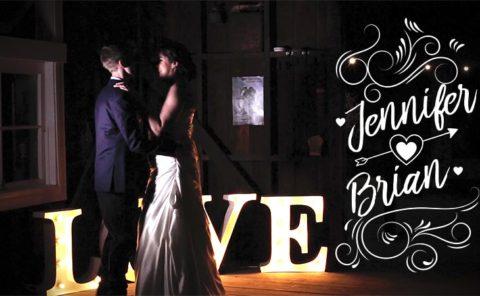 Jennifer and Brian Wedding Video