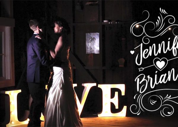 Jennifer and Brian Wedding Video