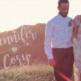 Jennifer and Cory Wedding Video
