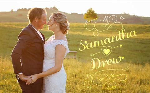 Samantha and Drew Wedding Video