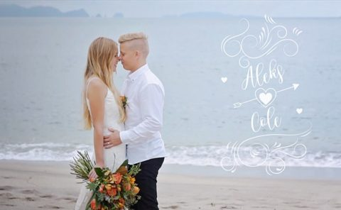 Aleks and Cole Wedding Video