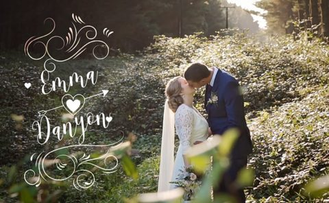 Emma and Danyon Wedding Video Old Forest School