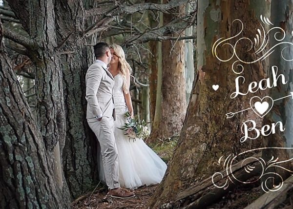 Leah and Ben Wedding Video, Olive Tree Cottage
