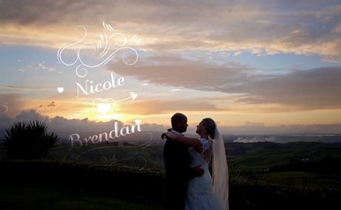 Nicole and Brendan Wedding Video at Eagle Ridge Tauranga