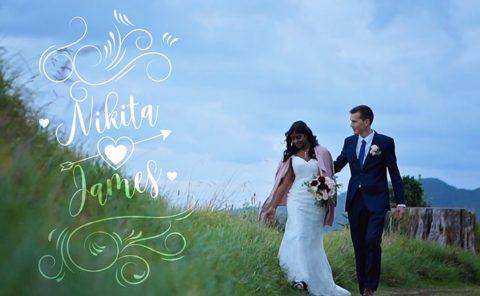 Niki and James Wedding Video Devonport Auckland