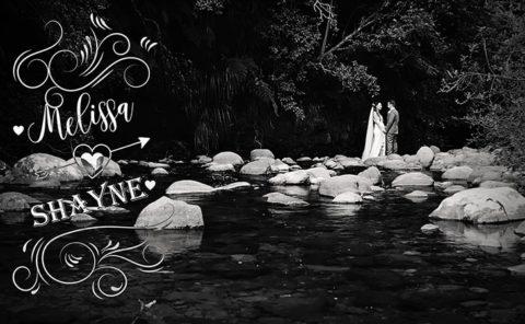Melissa and Shayne Wedding video in Tauranga