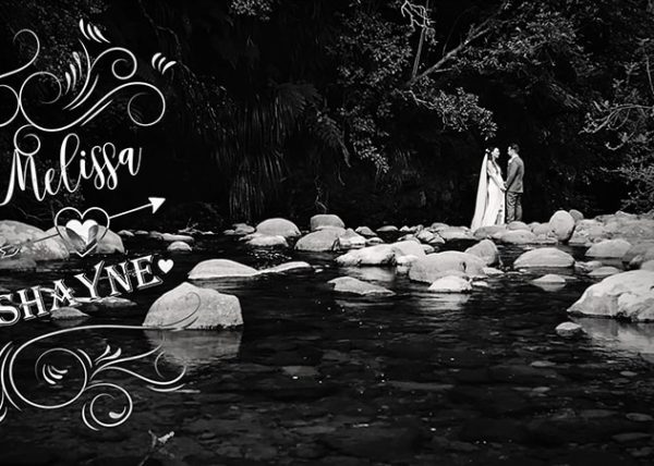 Melissa and Shayne Wedding video in Tauranga