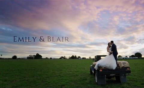 Emily and Bllair Wedding Video